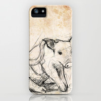 Sweet Pig iPhone & iPod Case by Steve Perrson