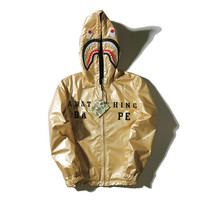 Bape Shark Men's Fashion Men Hats Double Sided Jacket [9511603399]