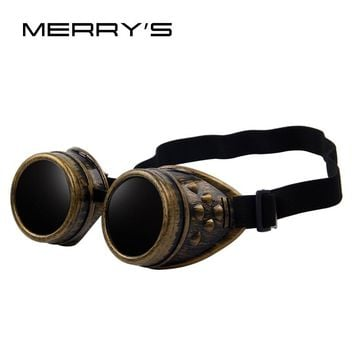 Gothic Vintage Style Goggles Sunglasses