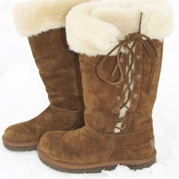 CHEN1ER Genuine Sheepskin Ugg Boots