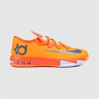Nike - Grade School Nike KD VI Basketball Shoes (Total Orange | Armory Slate)