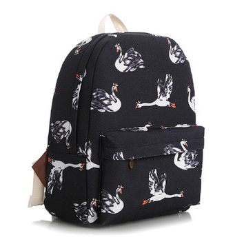 Canvas Korean Lovely Cute Backpack = 4888033732