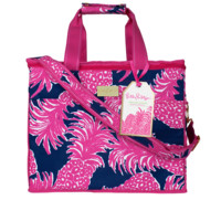 Lilly Pulitzer Insulated Beach Cooler-Flamenco