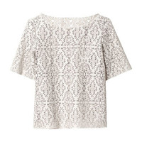 CUT - OUT FAUX LEATHER TOP - Tops - Woman   ZARA United States