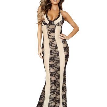Two-Tone Gown