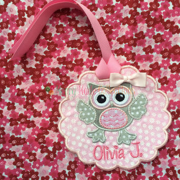 Backpack, Lunchbox or Tote Bag Tag - Made to Order