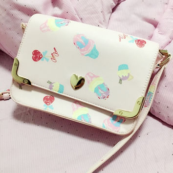 Sweet Ice Cream Shoulder Bag