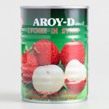 Aroy-D Lychee in Syrup, Set of 2