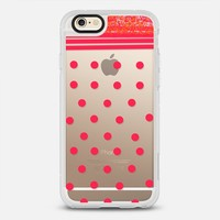 red dots iPhone 6 Carcasa by Marianna | Casetify