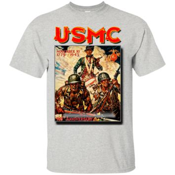 United States Marine Corps Poster : Gildan Ultra Cotton T-Shirt