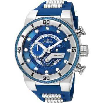 Invicta Men's 24223 S1 Rally Quartz Multifunction Blue Dial Watch
