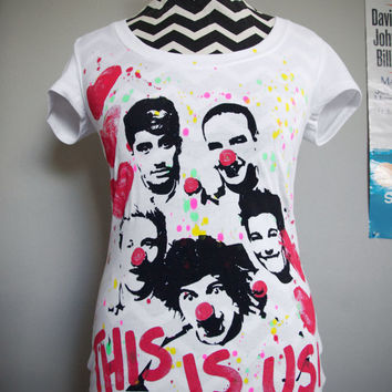 One Direction - This Is Us Girls T-Shirt Top (S-L)