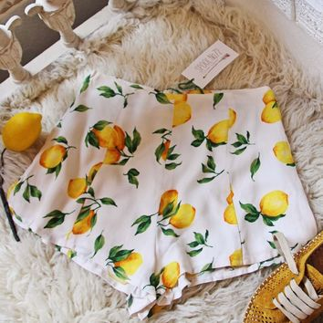 Lemongrass Shorts