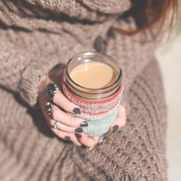 DIY Mason Jar Cozy - Free People Blog