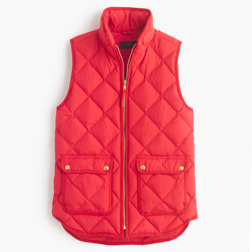 Petite Excursion Quilted Down Vest : Women's Coats & Jackets | J.Crew