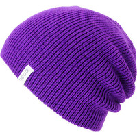 Coal Girls Frena Purple Knit Beanie