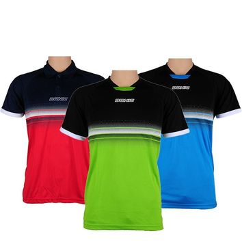Original DNOIC Summer Style table tennis badminton shirt Fitness Outdoor Sports shirt Quick Dry For men and Women T-shirt