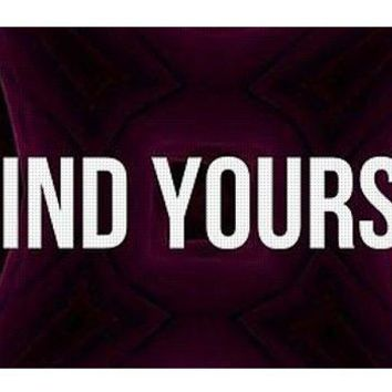 Go Find Yourself - Yoga Mat