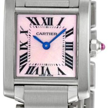 VLX9RV Cartier Tank Francaise Ladies Swiss Quartz Watch W51028Q3