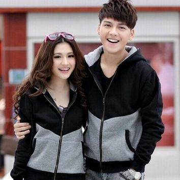 Jw2015 Early Autumn Clima Students Thickened Sweater Cardigan Jacket Couples Dress Class Service = 1920260164