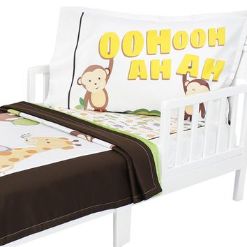 Sweet Safari - Toddler Bedding Set