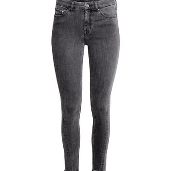 Skinny Regular Twisted Jeans - from H&M
