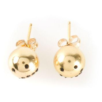 DCCKIN3 Nektar De Stagni 'Smiley Emoticon' earrings