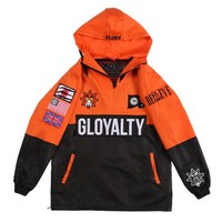 Gloyalty Pullover Jacket (Orange) – Glo Gang Worldwide