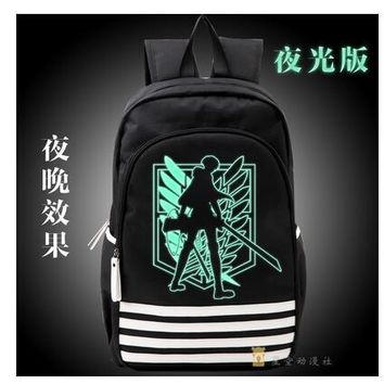 Cool Attack on Titan Anime no  Scouting Legion Oxford luminou School  Japan Anime Cosplay Backpack  for Students Gift AT_90_11
