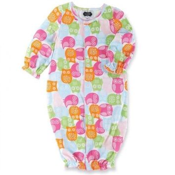 Mud Pie Bamboo Owl Convertible One Piece