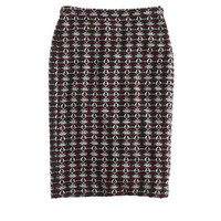 COLLECTION GARNET TWEED SKIRT