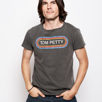Tom Petty Bumper Sticker Unisex Crew - Vintage Black