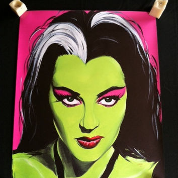 Lily Munster Poster Yvonne DeCarlo