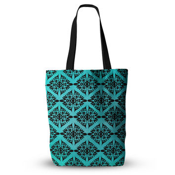 "Pom Graphic Design ""Eye Symmetry Pattern"" Everything Tote Bag"
