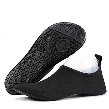 xcyliveus Beach Shoes Lightweight Flexible Breathable Quick Dry Water Shoes for Man and Women