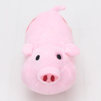 Hot Movie Gravity Falls Plush Toy Dipper Mabel Pink Pig Waddles Stuffed Soft Dolls Great Gift 16cm Long Approx