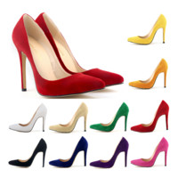 Womens Super Classic Trendy High Heels