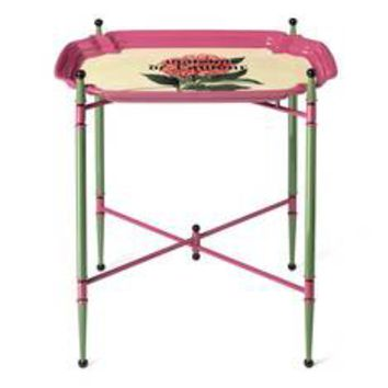 Gucci Maison De L'Amour print metal folding table