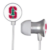 Stanford Cardinal Scorch Earbuds + Mic with BudBag