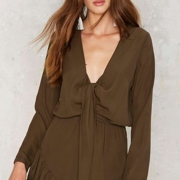 Branch Out Ruffle Romper