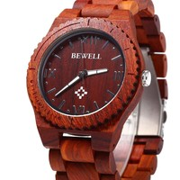Wood Men Quartz Watch Waterproof