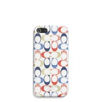 IPHONE 5 CASE IN MULTI DOT PRINT MOLDED PLASTIC