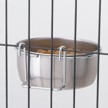 ProSelect Stainless Steel Hanging Pet Bowl