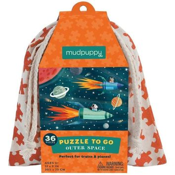 Mudpuppy Puzzle To Go- Outer Space 36 Pc