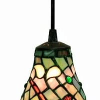 Warehouse of Tiffany 2011 Tiffany-style Dragonfly Hanging Light, Green