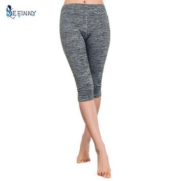 Women's Elastic Quick Dry Sports Fitness Leggings