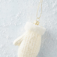 Shimmered Mitten Ornament