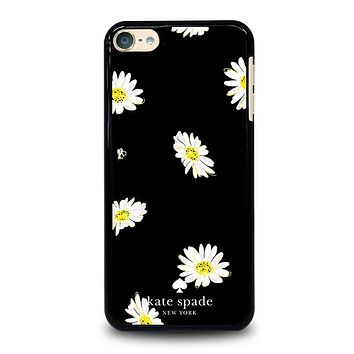 KATE SPADE FLOWER IN BLACK iPod Case