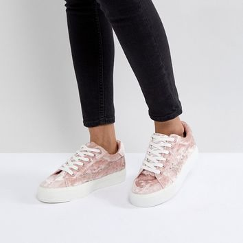 Park Lane Studded Trainer at asos.com