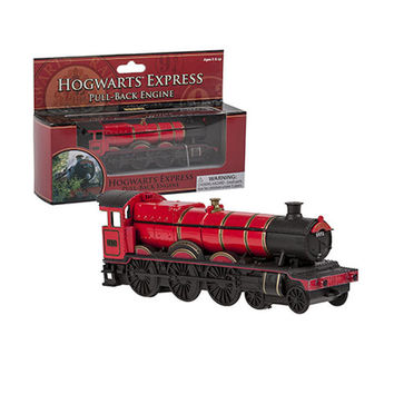 universal studios harry potter hogwarts express pull back engine train new box